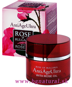 ANTI AGE CREAM ULTRA WITH ROSE OIL
