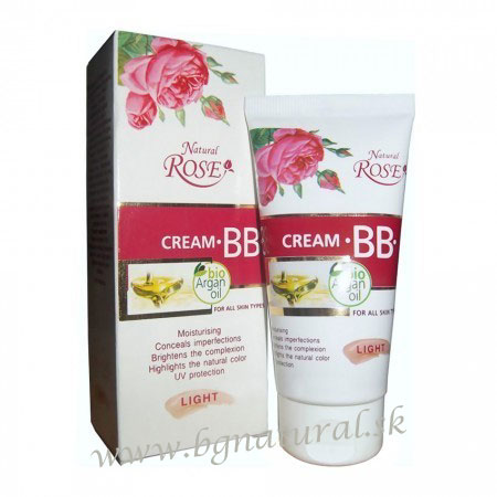 BB krém NATURAL ROSE Bio argan