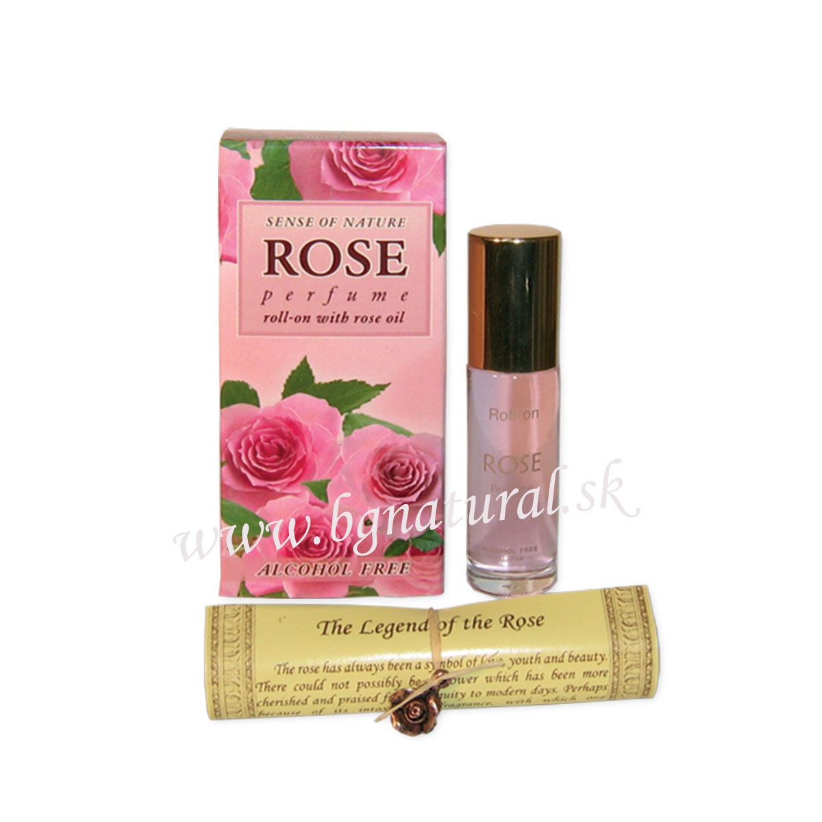 ROSE PERFUME roll-on alkohol free