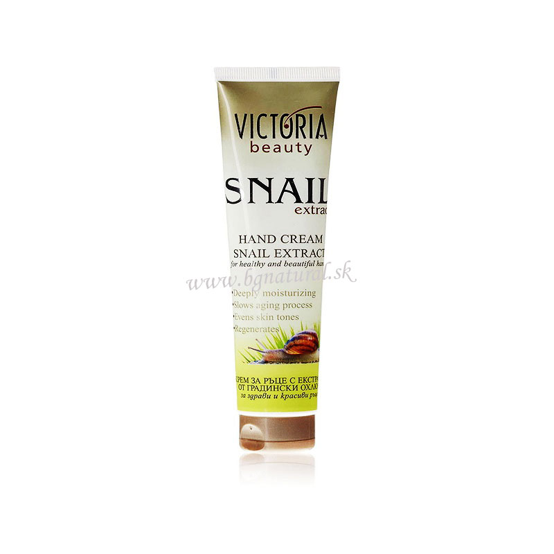 VICTORIA BEAUTY - Krém na ruky so slimačím extraktom 100 ml