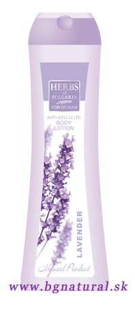 ANTICELLULITE BODY LOTION LAVENDER